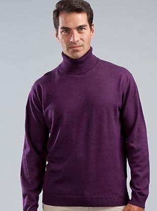 Cortefiel Jersey Cisne (Púrpura)