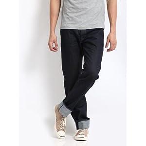 Levis Men Blue 501 Straight Fit Maldives Jeans