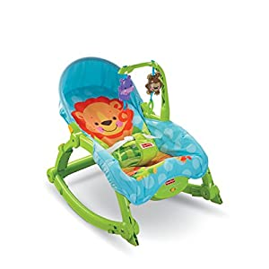Fisher Price Precious Planet Newborn-to-Toddler Portable Rocker