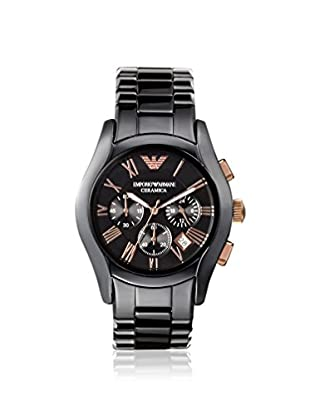 Emporio Armani Men's AR1410 Valente Black Ceramic Watch