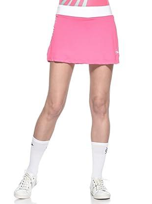 Dunlop Abbigliamento Ladies - Skort (Rosa/Bianco)