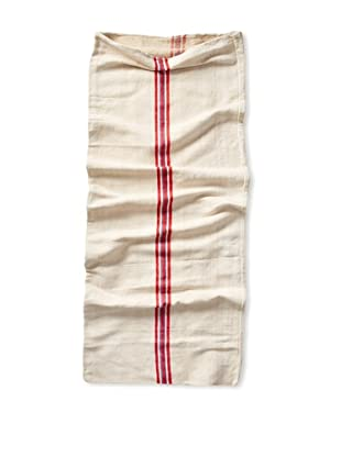 Vintage Hungarian Seed Bag, Multi Stripe