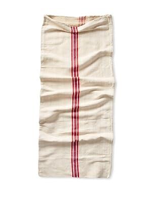 Vintage Hungarian Seed Bag, Multi Stripe