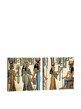 Dekorjinal Set, 2-teilig dekoratives Bild Kad291 (mehrfarbig)
