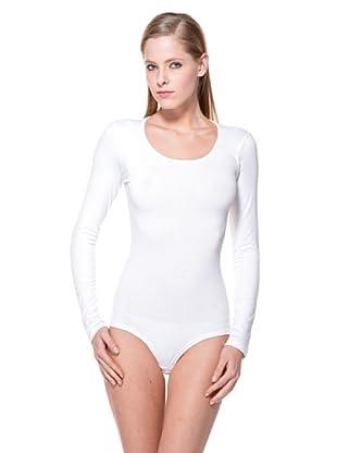 Cotonella Body Manga Larga (blanco)