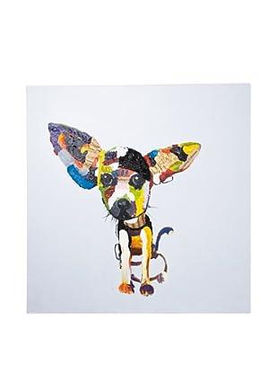 Kare Design Cuadro Al Óleo Chihuahua 100 X 100