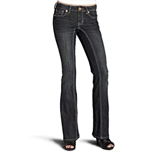 Kentucky Denim Women's Reba Boot Cut Jeans, Dirty Harry, 25