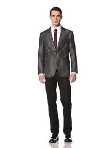 Ibiza Men's Ortona Jacket (Grey Stripe)