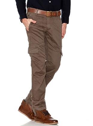Dockers Pantalón Cargo Ajustado (marrón)