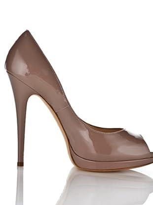 Casadei Zapatos Peep Toe (Nude)