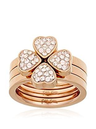 Folli Follie Ring H4H-Heart 4 Heart