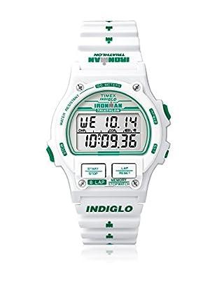 TIMEX Reloj de cuarzo Unisex Unisex Ironman Original 8-Lap Blanco 38 mm