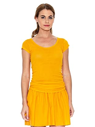 American Vintage Camiseta Lisa (Mango)
