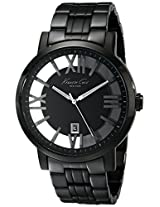 Kenneth Cole  Analog Black Dial Men's Watch - IKC9316