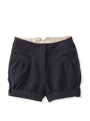 Pale Cloud Girl's Stella Shorts (Navy blue)