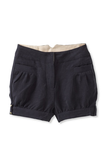 Pale Cloud Girl's Stella Shorts (Navy blue)