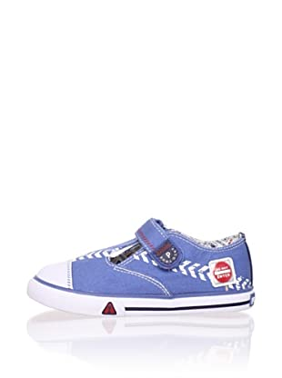 Pablosky Kid's T-Strap Sneaker (Jeans)