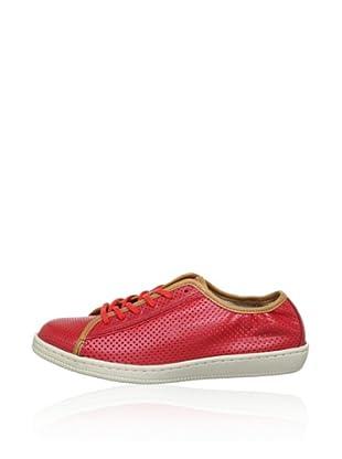 Rockport Zapatillas Casual Franja (Rojo)
