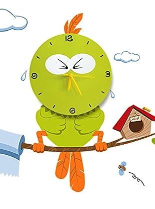 LO+DEMODA Wandtattoo Angry Green Bird