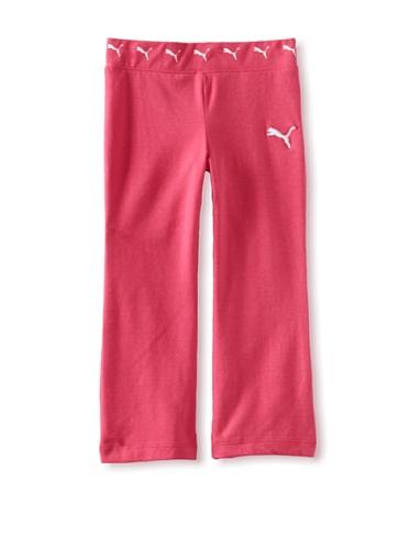 Puma Girls 2-6X Core Yoga Pant (Pink)
