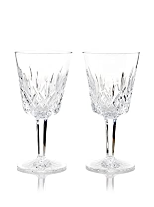 Waterford Pair of Lismore Goblets