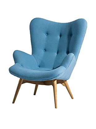 Euro Home Collection Jules Chair, Blue