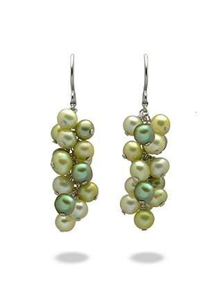 Valero Pearls 60200135 - Pendientes de mujer de plata con perla cultivada de agua dulce