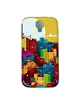 Chumbak Buildings Case for Samsung Galaxy S4 (Multicolor)