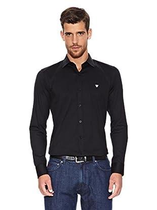 Caramelo Camisa Roméo (Negro)