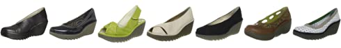 Fly London Women's Yaz Wedge Heel Leather