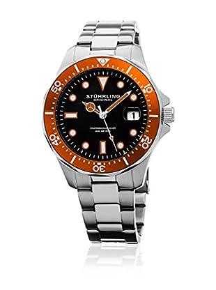 Stührling Original Uhr mit Japanischem Quarzuhrwerk Regatta 824.04 silberfarben 42  mm