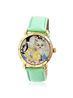 Bertha Women's BR3702 Vivica Green/Multi Leather Watch
