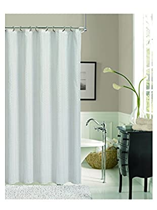 Dainty Home Livingston Shower Curtain, Ivory