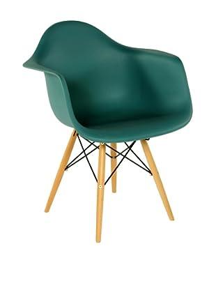 Stilnovo Mid-Century Arm Chair, Green