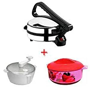 Sobo Roti Maker+Atta Kneader+Hot Combo Pack