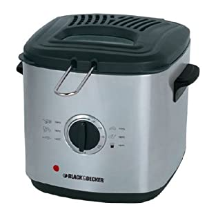 Black & Decker EF1220 Deep Fryer - Silver