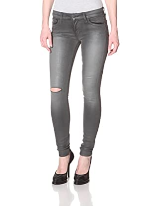Textile Women's Debbie Coated Jean (Gun Metal)