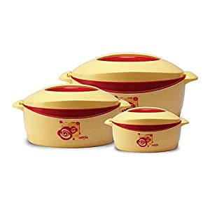 Milton Trumph Casserole Gift set, 3-Piece, Red (EC-THF-FTK-0027)