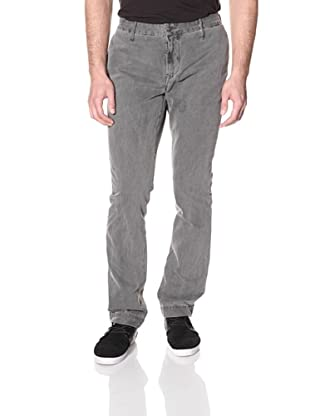 Earnest Sewn Men's Tapered Chino Pant (Grey Layer Dye)