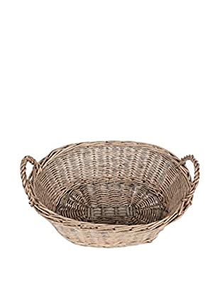 KAF Home Woven Willow Oval Bread Basket