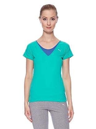 PUMA T-Shirt Tp Fitness (Grün)
