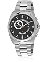 Porter Kk-20009-11 Silver/Black Chronograph Watches
