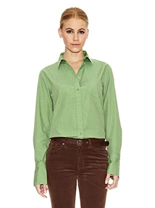 Gant Camisa Clásica (Verde)