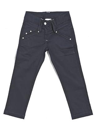 Pantalón Stretch 5 Tasche (Azul)