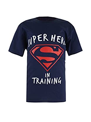 DC Comics T-Shirt Manica Corta Superman Training