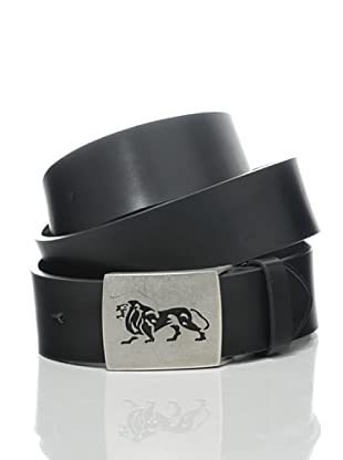Lonsdale Cintura Lion Embossed (Nero)