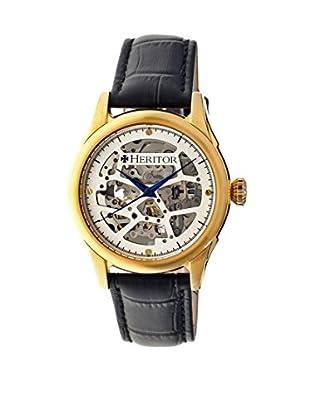 Heritor Automatic Uhr Nicollier Herhr1903 schwarz 43  mm
