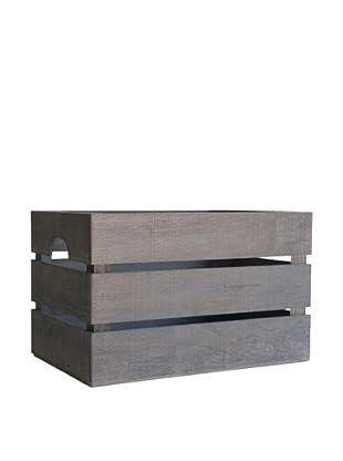 Really Nice Things Aufbewahrungsbox Vintage grau