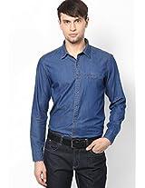 Denim Washed Full Sleeve Shirt