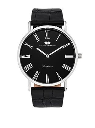 Rhodenwald & Söhne Uhr mit japanischem Quarzuhrwerk 10010123 schwarz 40  mm